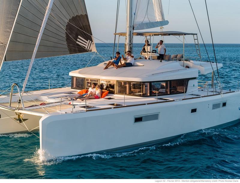 luxe catamaran zeilplezier