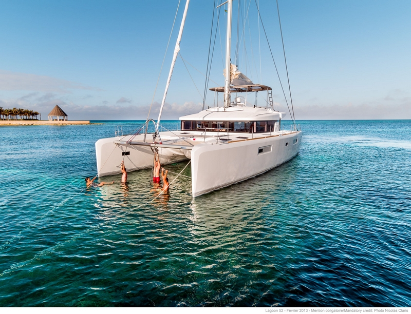 luxe catamaran zwemplezier